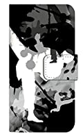 [iPhone12Pro] スマホケース 手帳型 ケース デザイン手帳 アイフォン12プロ 8187-A. 空手_ブラック かわいい 可愛い かっこいい 人気 柄 ケータイケース 空手