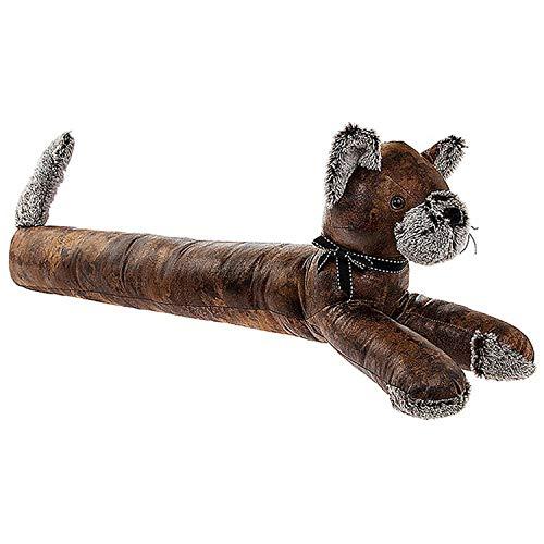 Antico Pal, Paraspifferi A Forma Di Gatto Lungo, Effetto Pelle Invecchiata