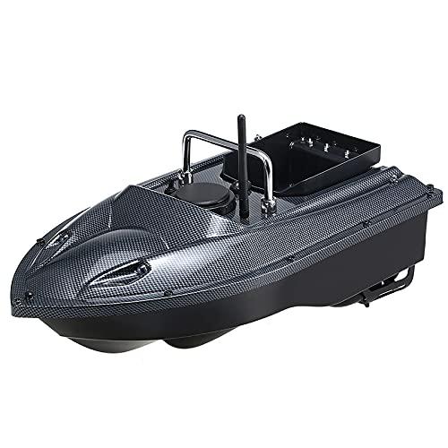 GYAM Köderboot, Fischfinder, 1,5 Kg Laden 500M Fernbedienung Fischerköderboot RC-Boot Intelligenter Köder Schiff Unabhängiger Köderbehälter