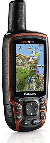 Garmin GPSMAP 64s Navigationshandgerät – barometrischer Höhenmesser, GPS und GLONASS Kompatibilität, Live Tracking, Smart Notification, 2,6 Zoll (6,6cm) Farbdisplay - 7