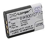 vhbw Li-Ion batería 640mAh (3.7V) para cámara Sony Action CAM Mini AZ1, HDR-AZ1, HDR-AZ1VR por NP-BY1.