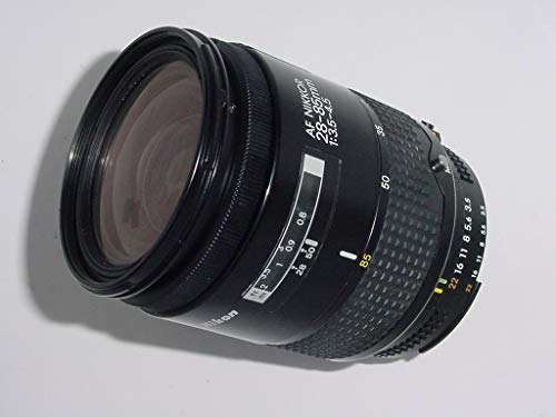 Nikon 28-85/3.5-4.5 Auto Focus Zoom-Nikkor Wide Angle to Telephoto Nikon Camera Lens