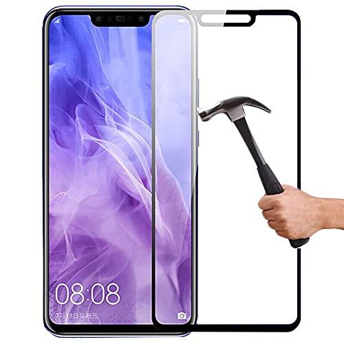 Lapinette Protector de Pantalla Compatible con Huawei Mate 20 Lite Completa - Protector de Pantalla Vidrio Templado Mate 20 Lite Integral - 9H Force Glass - Protectora Completa