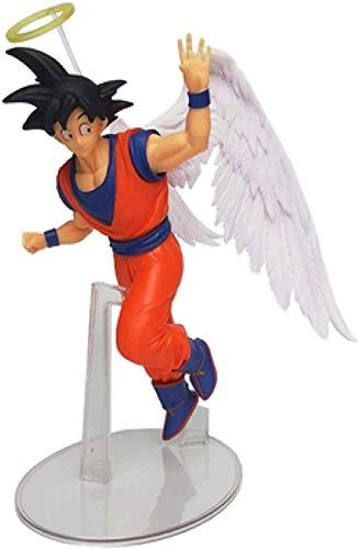 Cheeff Yzoncd Dragon Ball Z Goku Angel Wings On Reunion Super Saiyajin PVC Anime Figura DBZ Vegeta Broly Collector Modelo 20cm