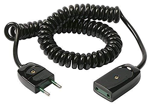 Vimar 0p32322Cable alargador Extensible, 2x 0.75, 3m, Negro