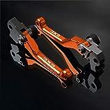 LIWENCUI- Accesorios de la motocicleta bici de la suciedad de pivote de freno palancas de embrague for KTM 125EXC 200EXC 125 EXC 500 530 400 450 300 250 2009-2013 (Color : 530EXC 2008 2011)