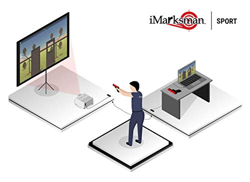 Best Prices! iMarksman Shooting Sport Target Home Laser Simulator Software Laser Ammo Smokeless Rang...