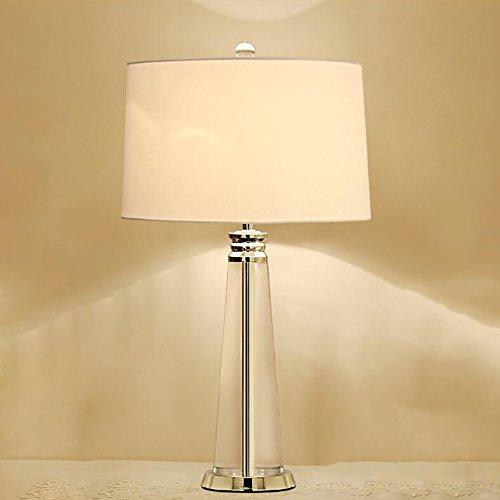 SKC Lighting-lampe de table Moderne simple lampe de table européenne en cristal hôtel créatif grande lampe de table mode salon lampe de table décorative (Couleur : Les petites)