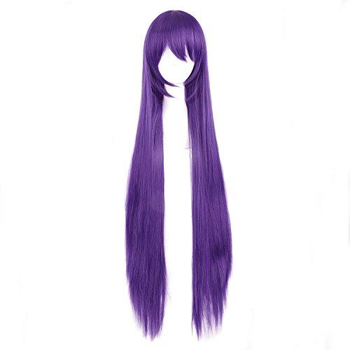 obtener pelucas moradas largas on line