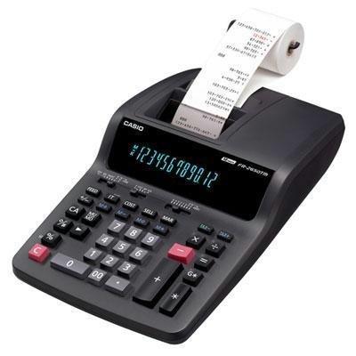 CIOFR2650TM - CASIO FR2650TM Desktop Printing Calculator