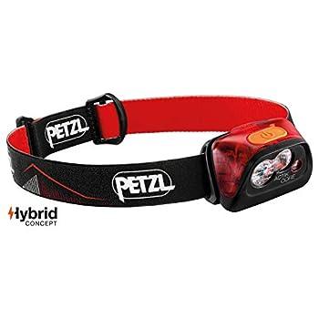 PETZL E099GA01 Lampe Frontale ACTIK Core, Rouge, Unique & NOCTILIGHT - étuis pour équipements (Petzl, TIKKINA, TIKKA, ZIPKA, ACTIK, ACTIK CORE, REACTIK, REACTIK +, TACTIKKA, 85 g), Noir/Orange