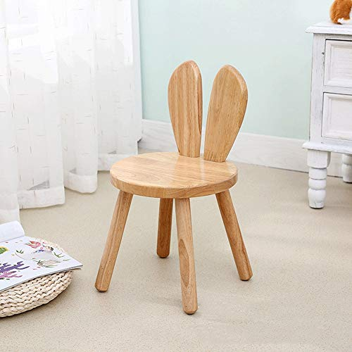Price comparison product image HANXIAODONG Ottoman and Footstool Faux Fur Stool Stools Solid Wood Adult Children's Home Wooden Square Small Bench Living Room Shoes Bench Leisure Portable Bench (Color : Figure 1,  Size : 262750)