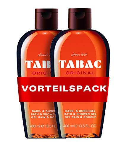 Tabac® Original I Vorteilspack Duschgel - Original Seit 1959 - sanft zur Haut - mit dem Duft des Originals - spürbar gepflegtes Frischegefühl I 2x 400ml