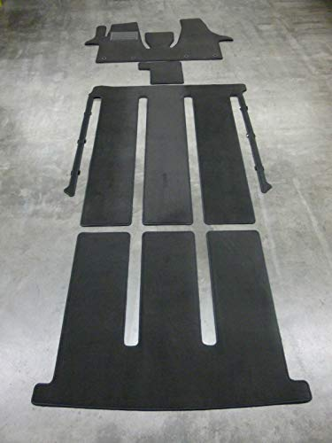 Velours Fußmatten Teppich passend für T5 Multivan Gastraum Kofferraum KOMPLETTAUSLAGE
