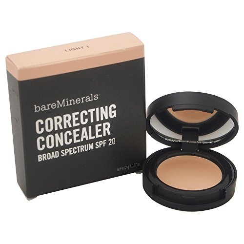 bareMinerals Correcting Concealer SPF 20, Light 1, 0.07...