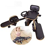 Grossy Leg Stretcher Heavy Duty Split Extension Machine Stretch Training Calf Inner Thigh Stretching Flexibility Trainer for Home Yoga Gym Fitness 330lbs