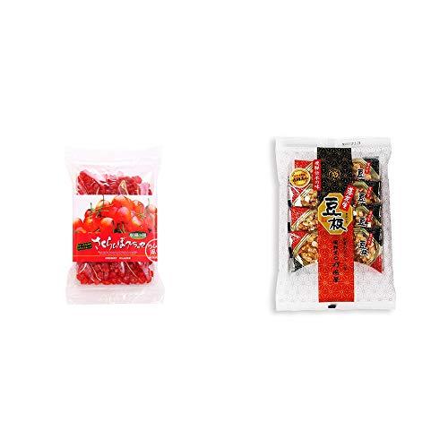 [2点セット] 収穫の朝 さくらんぼグラッセ ラム酒風味(180g)・飛騨銘菓「打保屋」の駄菓子 豆板(8枚入)
