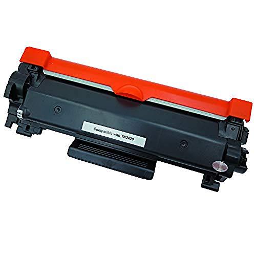 Office Ink Toner Vervanging voor Brother TN2420 TN2410 tonercartridges Compatibel voor Brother HL-L2375DW DCP-L2550DW MFC-L2715DW MFC-L2750DW HL-L2386DW HL-L2385DW HL-2370DW HL-L2350DW Printer