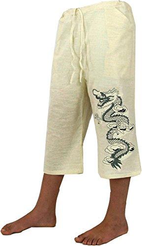 Guru-Shop - Yoga-Bekleidung in Weiß, Größe 50