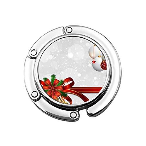 Gancho para Monedero para Mesa, Bolas navideñas, Ganchos para Mesa para monederos, Percha para Mochila