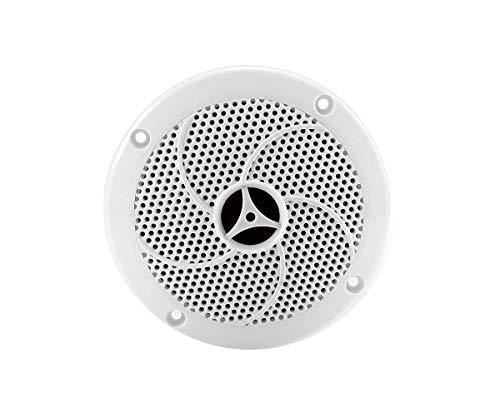 eliga Lautsprecher bis 120° C, weiß, Ø 135 mm