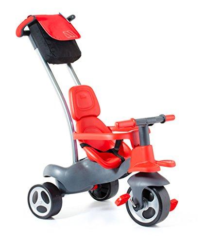 MOLTO- Triciclo Urban Trike Easy Control, Color Rojo