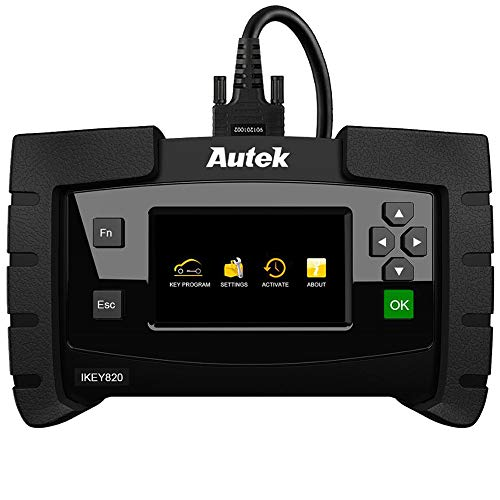 Autek Key Programmer Ikey820 OBD2 Immobilizer Diagnostic Tool for Add Key All Keys Lost Erase Keys Key fob Programmer Tool for Locksmith