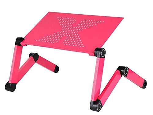 TIUENHAVU Laptop stand Portable Adjustable Aluminum Laptop Desk Stand Table Vented Ergonomic TV Bed Working Office PC Riser Bed Sofa HH408200CS2