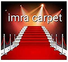 Carpet Runner for Home Red Carpet 10 ft x 130 ft Party Decoration Fabric Red Carpet Floor Runner & Awards Night Party Item
