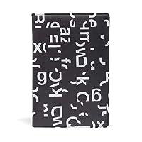 ブックカバー 文庫 a5 皮革 レザー Ei英字 文庫本カバー ファイル 資料 収納入れ オフィス用品 読書 雑貨 プレゼント