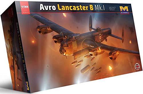 HK Models 01E010 Avro Lancaster B Mk.1 1/32 Scale Aircraft Model Kit - Limited Edition