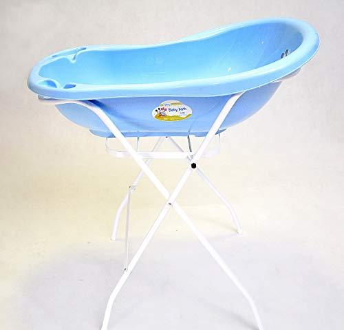 Best For Kids Universalständer für Babywannen, 84 und 100 cm, mit oder ohne Ablage, weiß, ohne Babywanne (84 cm ohne Ablage)