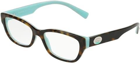 Eyeglasses Tiffany TF 2172 8134 HAVANA/BLUE w/ Clear Demo Lens 50mm