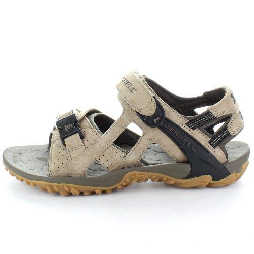 Merrell mens Merrell Mens J31011 Kashuna III Sandals Brown Classic Taupe UK 10 (EU 44.5)