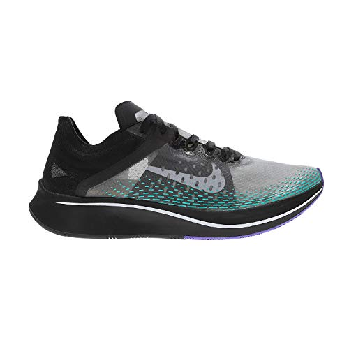 Nike Unisex Adults Zoom Fly Sp Fast Track & Field Shoes, Multicolour (Black/White/Hyper Jade 000), 11.5 UK