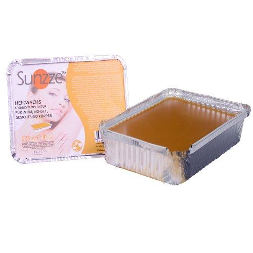 Sunzze Honing, natuurlijke harde wax, 1 kg, bikinizone en Braziliaanse waxing, zeer elastisch en lage temperatuur,