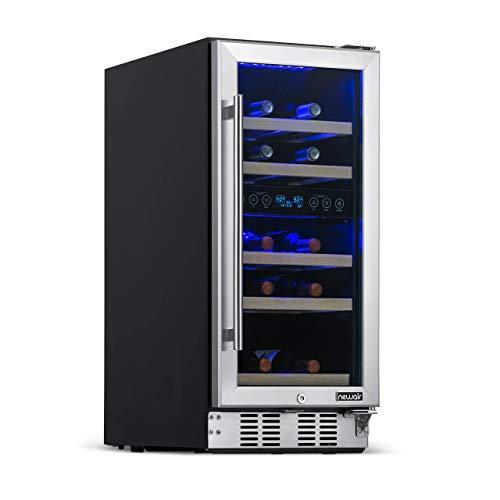 NewAir 43-Bottle Dual-Zone Freestanding Wine Cooler