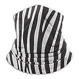Lawenp Animal Zebra Print Stripe Diadema Diadema para mujer Bufanda Pañuelo para hombre, Silenciador, Polaina para el cuello, Magia, Pañuelo para el cuello Foulard