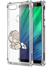 Suhctup Funda Transparent Compatible para Xiaomi Mi 5X/Mi A1,Carcasa Protectora [Antigolpes] Suave Silicona TPU Bumper Cojín de Aire de Cuatro Esquinas Protector Gel para Mi 5X/Mi A1,A16