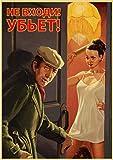 Leinwand Poster Stalin UDSSR CCCP Retro Poster Gute