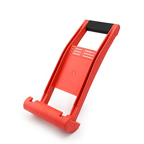 Drywall Carrying Tool, EnPoint ABS Plastic Plywood Panel Carrier Sheetrock Drywall Carrier 80KG Load Lift Panel Carry Mover Tool for Lifting up Glass Board Plasterboard Wood