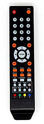 New Replacement Remote Control for Sceptre TV U435CV-UMR C550CV-UMR E195BD-SR E246BD-SMQK E168WV-SS X438BV-FSR X322BV-SRR C650CV-UMR C658CV-UMR X435BVFSR E168WD-SS E165BD-SS E165WV-SS E165WD-SS