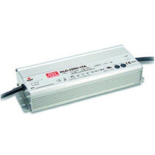 Switching LED Driver Power Supply - Current Adjustable by Output Cable, 24V 13.34A 320W
