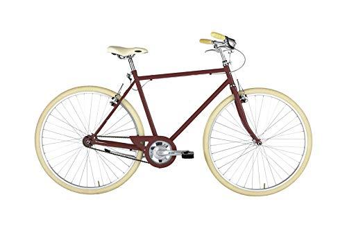 "Alpina Bike L'EGO 28"", Bicicletta Uomo, Rosso, 1v"