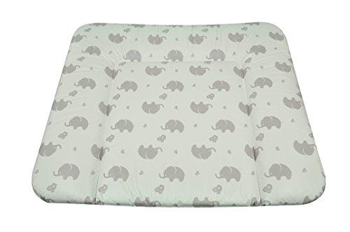AsMi Wickelauflage Soft (Elefant Zartgrau)