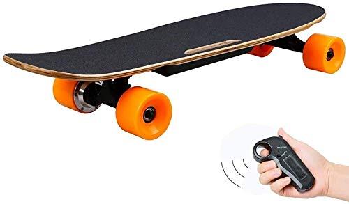 Qianqiusui Elektro-Kreuzer Skateboards, elektronisches Stabilitäts Skateboard Deck, Licht elektrisches Skateboard, speziell zugeschnitten for Anfänger und städtische Pendler elektrisches Schneidebrett