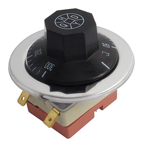 sourcingmap® AC 250V 16A 50-300 Grad Celsius NC Backofen Thermostat Temperaturregler Kapillare de