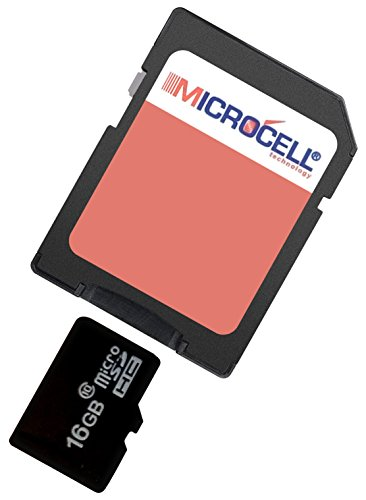 yayago Microcell SD 16GB geheugenkaart / 16 GB Micro SD-kaart voor Tchibo Action Cam Full HD