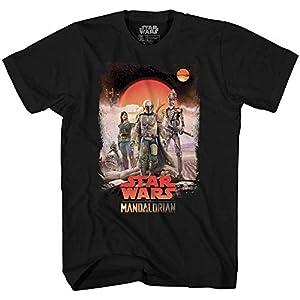 Star Wars Mandalorian Team Desert Disney + Show Camiseta Para Adultos Camiseta Gráfica Para Hombre Camiseta 8