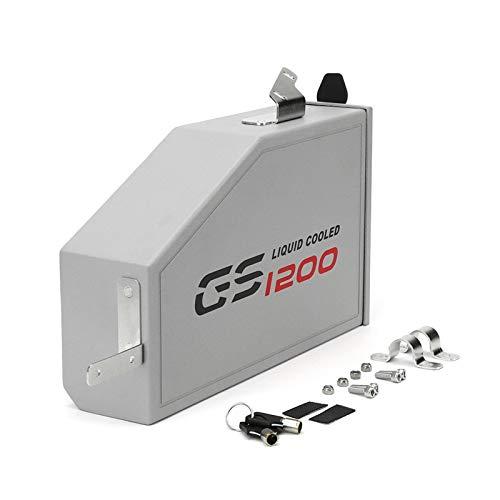 para R1200GS ADV LC R1200 / R 1200 GS 2013-2019 Caja de Aluminio Decorativa Caja de Herramientas de 5 litros Caja de Herramientas Soporte Lateral Izquierdo (Color : GS)